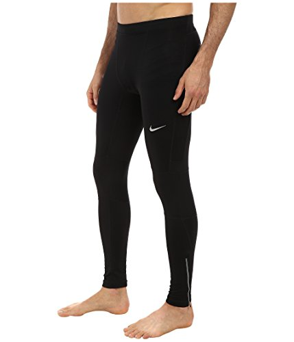 Nike Men's Dri-FIT Essential Running Tights Black/Reflective Silver Size X-Large by Nike (Image #6)