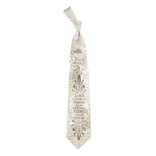 Eagles Wings Men's Finely Crafted Inspirational Necktie - Fulfill His Purpose