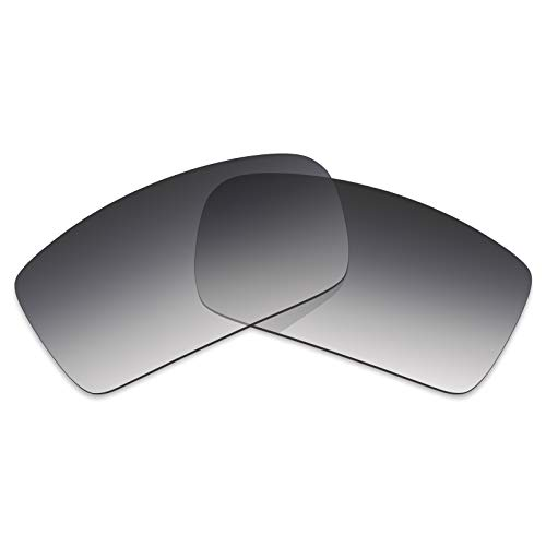 (Mryok Polarized Replacement Lenses for Oakley Gascan - Grey Gradient Tint)