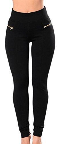 Pencil Leg Pants - 7