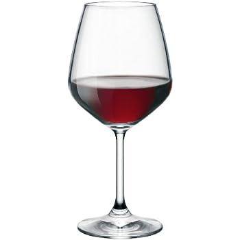 Bormioli Rocco Restaurant Red Wine Glass, Set of 4