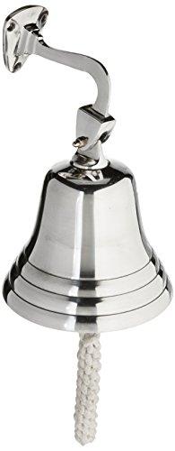 Solid Aluminum BellWall Mount, 6.5' - Chrome Finish
