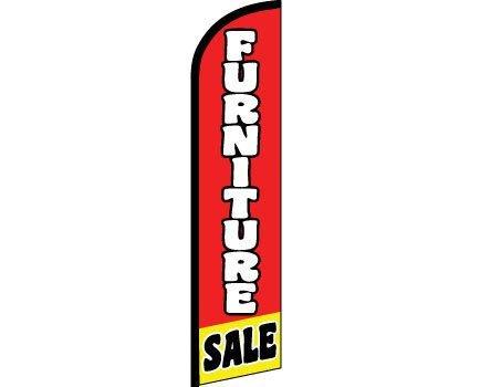 Bandera de la venta de muebles sin viento