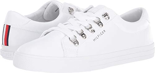 (Tommy Hilfiger Women's Linzer White 10 M US M)