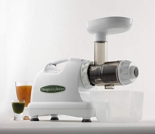 Omega Juicer J8004 juicer, White