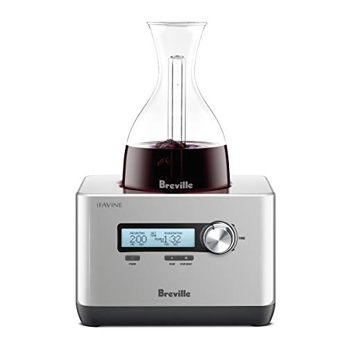 Breville the Sommelier BWD600SIL Electric Hyper-Speed Decanter (For Sale Decanters)
