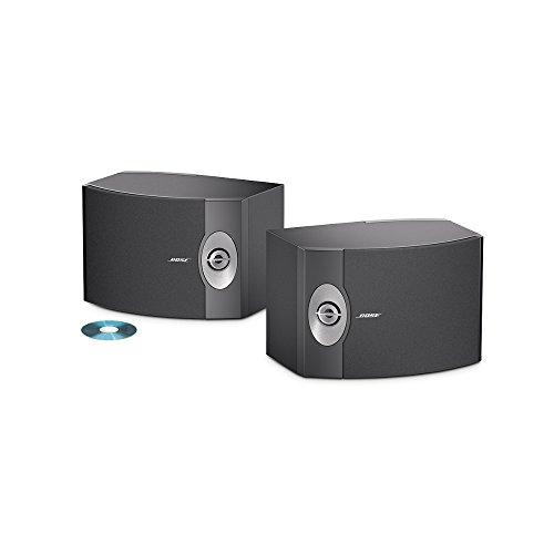 Bose 301-V Stereo Loudspeakers (Pair, Black) (System Acoustimass Speaker 5)