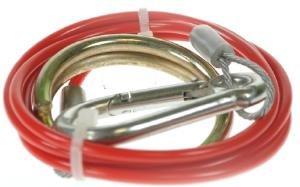 Trailer caravan breakaway cable with split ring Pt no LMX721