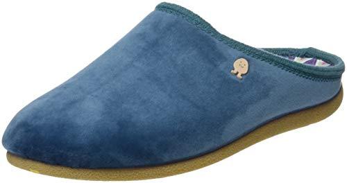 Azul Gioseppo Azul Chaussons Talon Ouvert 46777 p Femme à Bleu TTwrB8q