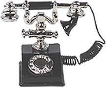 (Classic Telephone Black)