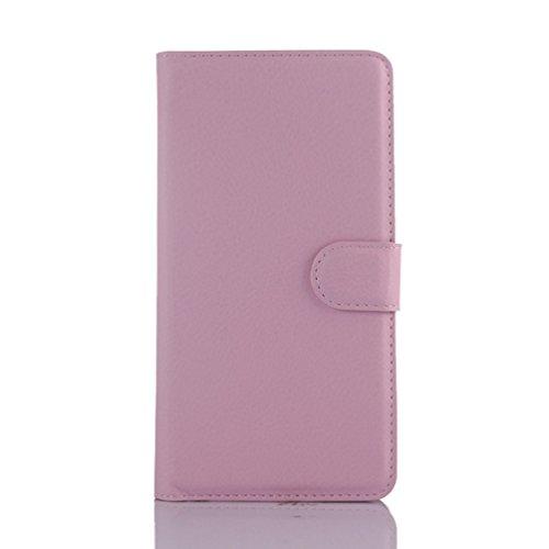 Manyip Funda Huawei Mate 7 mini(D3 mini),Caja del teléfono del cuero,Protector de Pantalla de Slim Case Estilo Billetera con Ranuras para Tarjetas, Soporte Plegable, Cierre Magnético(JFC6-3) H