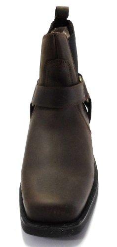 Gringos - Botas estilo motero unisex marrón - marrón