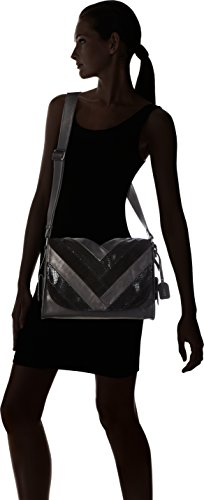 Women��s Cross Bag Q0414 Black Schwarz Body Remonte SPzqwxdCP