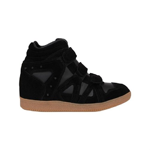 Firetrap Womens Serena Wedge Hi Top Trainers Black 5 Amazoncouk Shoes Bags