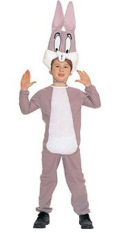 Rubie's Costume Co. Bugs Bunny Cartoon Character Kids Costume Large, Multicolor -