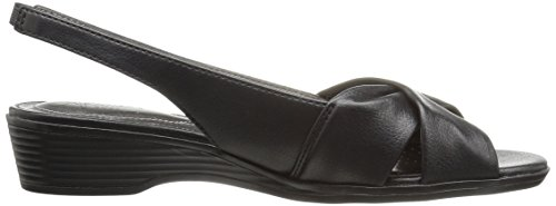 Women's Black 2 Flat Mimosa LifeStride Sandal wxq8n