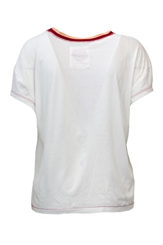 shirt Femme Unique Taille T Bianco Desigual qHa50wW