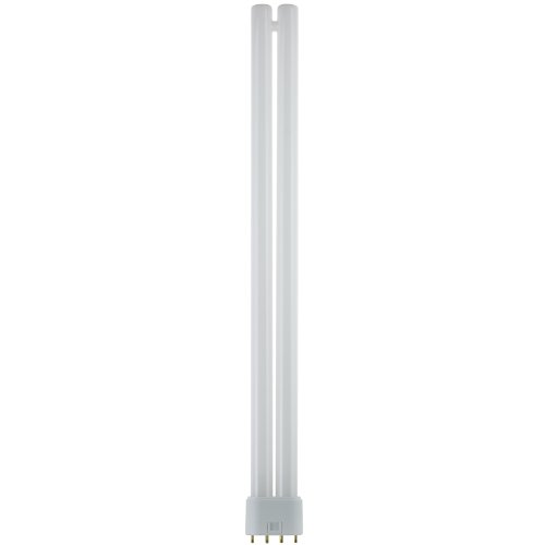 Sunlite FT36DL/830 Compact Fluorescent 36W Twin Tube Light Bulbs, 3000K Warm White Light, 2G11 ()