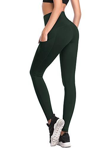 fa28af6bba5c9 ... Neleus Women's 2 Pack Tummy Control High Waist Running Workout Leggings  Yoga Pants,103, ...