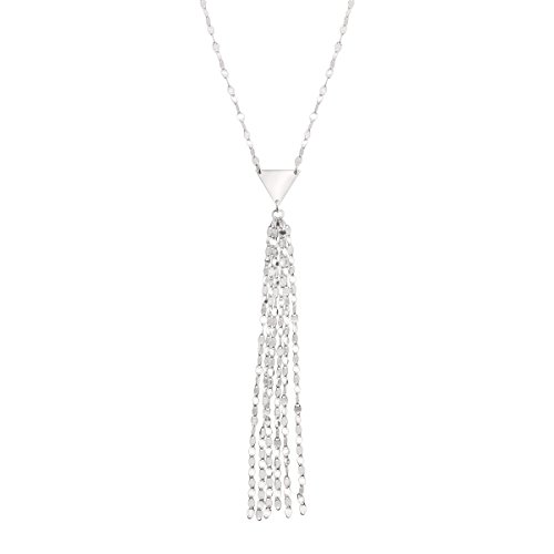 Silpada 'Siena' Lariat Tassel Necklace in Sterling Silver