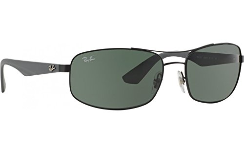 52854e3483 Ray-Ban Aviator Sunglasses (Black Grey) (RB3527 006 71 61-17 ...