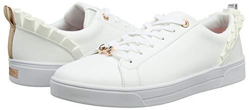 Femme Ted Baker Astrina Blanc white Whte Baskets 74URUxq
