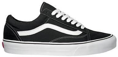 Vans Old Skool Trainers Black White Old