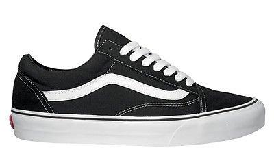 Vans Old Skool Trainers Black/White UK 5