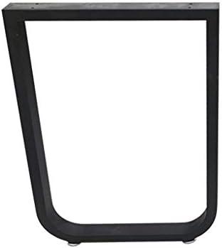 AFDK Hierro negro Patas de mesa de metal Corredores de mesa ...