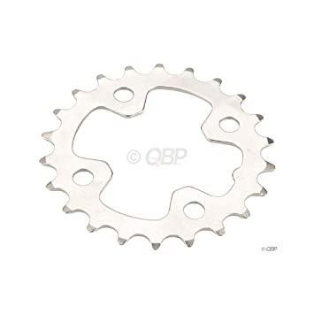 Shimano LX-M572/1/0 9sp chainring, 64BCD x 22t - sil: Amazon