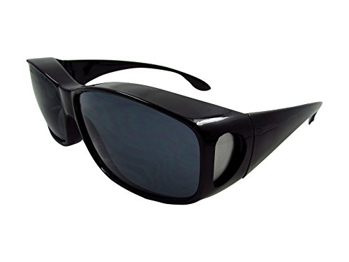 ELLITE HD ClearVision UV Protection Wraparound Driving Wear Over SunGlasses