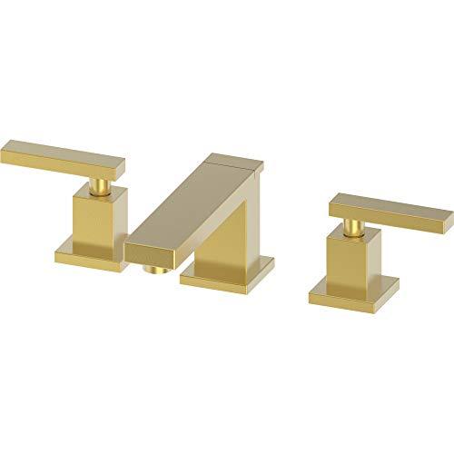 Newport Brass 2560/24S Skylar Widespread Bathroom Faucet, Satin Gold