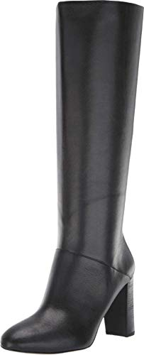 Cole Haan Women's Glenda Boot (90MM) Mid Calf, Black Leather, 11 B US