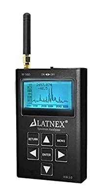 Spectrum Analyzer and RF Explorer Available for 3G, 6G and WSUB1G Bands Handheld Frequency Analyzing for Ham Radio, Wireless Devices, WiFi Networks, Audio Engineers