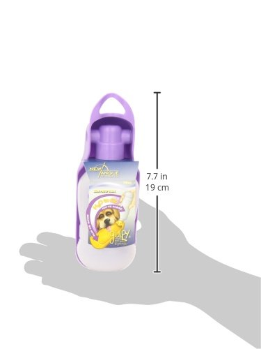 GULPY Water Dispenser for Pet, 10-Ounce, Purple