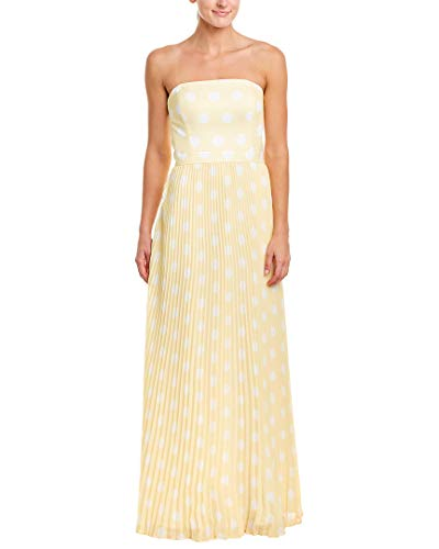 Kay Unger Womens Gown, 16, Yellow