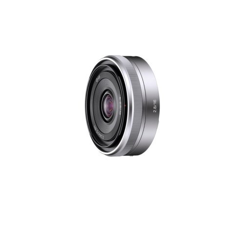 Sony SEL16F28 16mm f/2 8 Wide-Angle Lens for NEX Series Camerasの商品画像