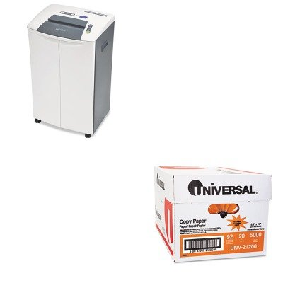 KITGOEGSC260TCUNV21200 - Value Kit - Intek GSC260TC Heavy-Duty Commercial Strip-Cut Shredder (GOEGSC260TC) and Universal Copy Paper (UNV21200)