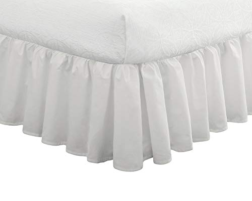 Fresh Ideas Bedding Ruffled Bed Skirt, Classic 14