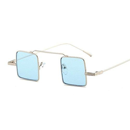sol de Gafas de caja anti de la de rosadas de la UV las personalidad redonda señoras sol Gafas la Uno de 6 señora sol Shop gafas sol de t6S5ww