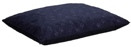 MidWest 36 by 48-Inch Eko Cover and Liner, Navy Paw Print