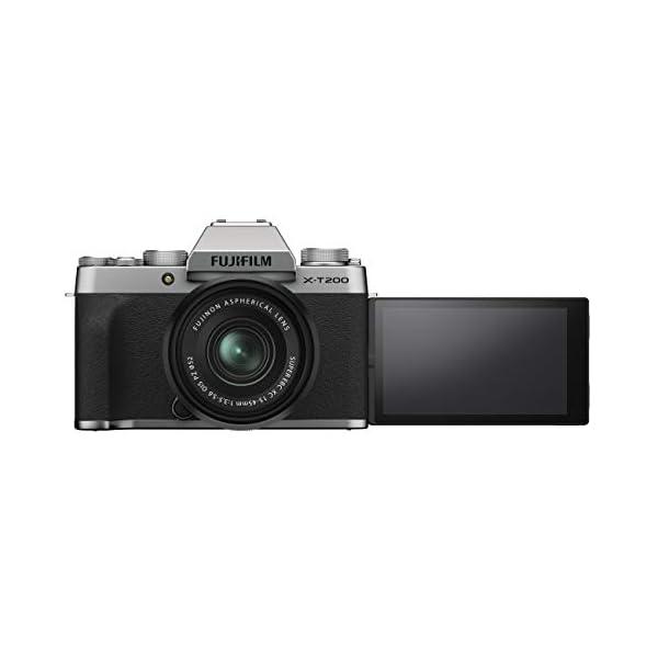 RetinaPix Fujifilm X-T200 XC 15-45mm F3.5-5.6 (Silver Argent)