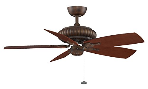 Locations Tortoise Shell Finish - Fanimation FP4320TS Belleria Tortoise Shell Ceiling Fan Assembly