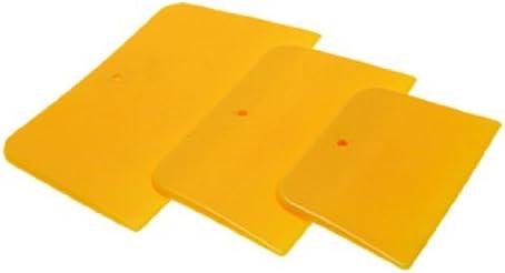 Agua y madera amarillo plástico coche parabrisas Tinte Cine ...