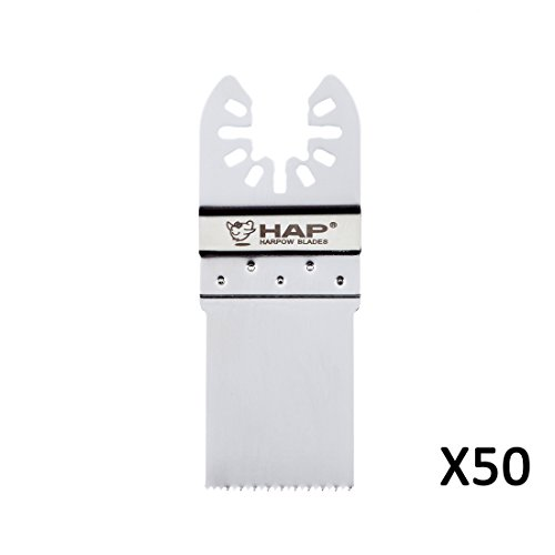 Harpow Standard angled cutter blade,50 Pieces,power oscillating tool blades,multitool blades,power tool saw blades,fits Fein Bosch Craftsman Rockwell Einhell Westfalia Ferm Pro-Line Matrix tools -  Hangzhou Harpow Tools Co., Ltd., HP09-50