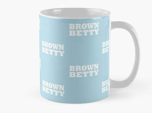 Brown Betty Simple Food Halloween Costume Party Cute & Funny T shirt Mug, Standard Mug Mug Coffee Mug - 11 oz Premium Quality printed coffee mug - Unique Gifting ideas for Friend/coworker/loved ones ()