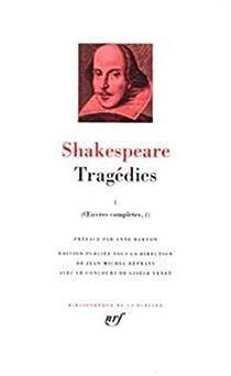 Tragédies, tome 2 par Shakespeare