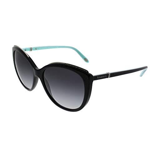 Tiffany TF4134B 80013C Black TF4134B Cats Eyes Sunglasses Lens Category 3 ()