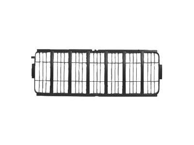 CAPA GRILLE COVER Jeep Liberty GRILLE INSERT; MATTE-BLACK (2002 Jeep Liberty Headlight)