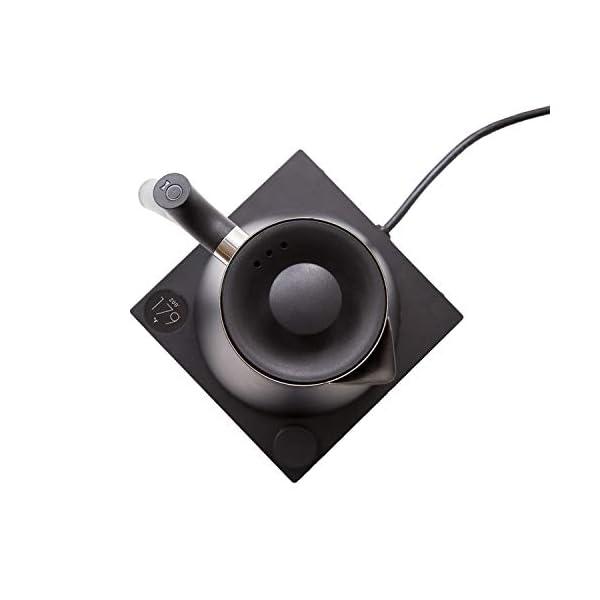 Fellow Corvo EKG Electric Kettle For Tea And Coffee, Matte Black, Variable Temperature Control, 1200 Watt Quick Heating… 4